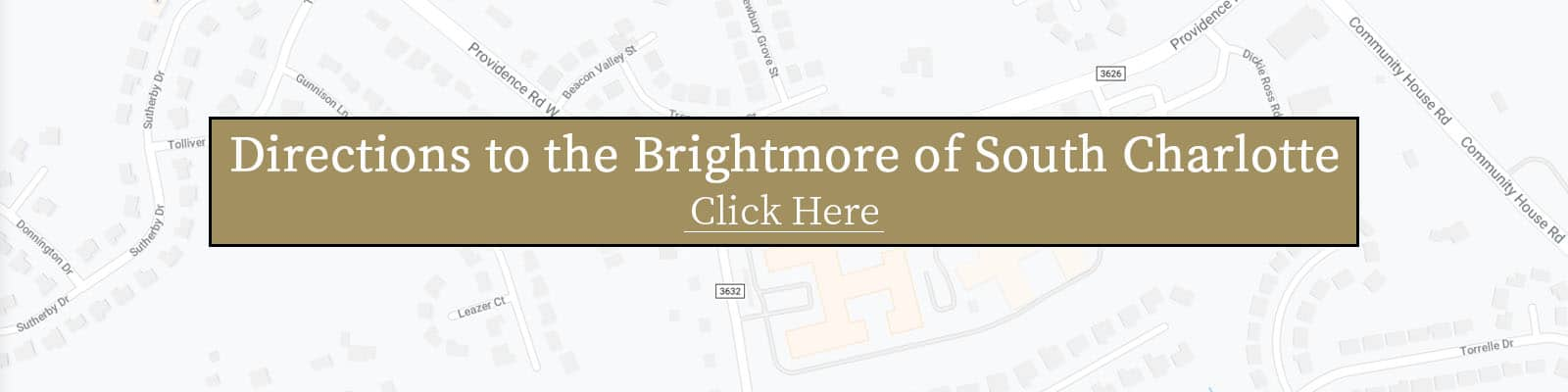 Brightmore of South Charlotte map